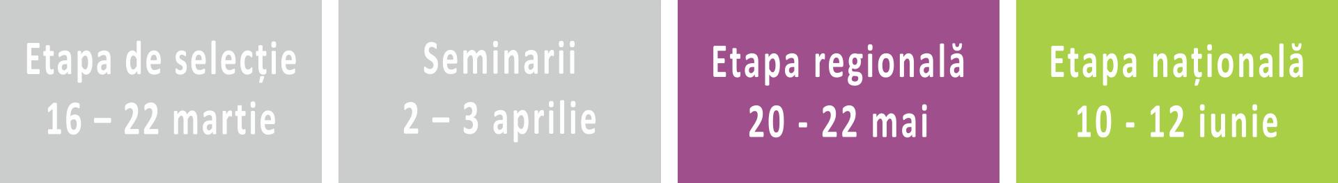 calendar regionale TD2016